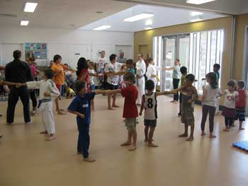 Kaizen Martial Arts Showing Karate Kids in Action