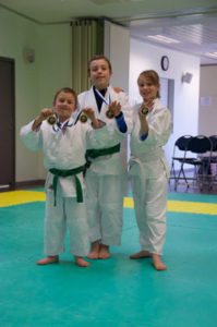 Kaizen Martial Arts Competition Winners