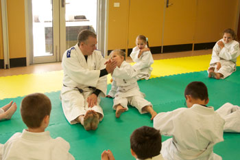 Judo Side Break Fall Training Wyndham Vale Dojo