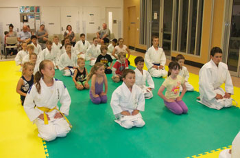 End Of Judo Training Class