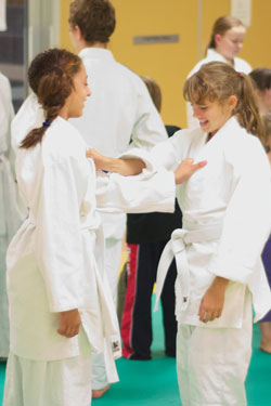 Judo Girls Grip Fighting Practice Wyndham Vale