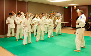 Shotokan Karate Kids Upper Block