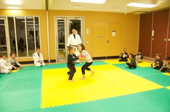 Judo Sumo Game With New Beginners at Wyndham Vale