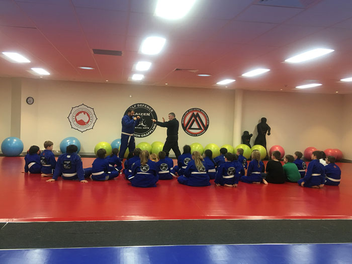 Wednesday Night kids beginners self defence class Wyndham Vale