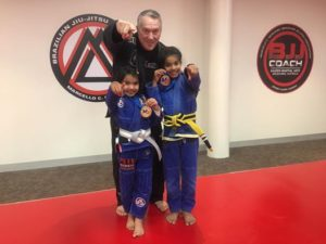 BJJ Coach Wyndham Vale Kids Win Gold At BJJ Competition
