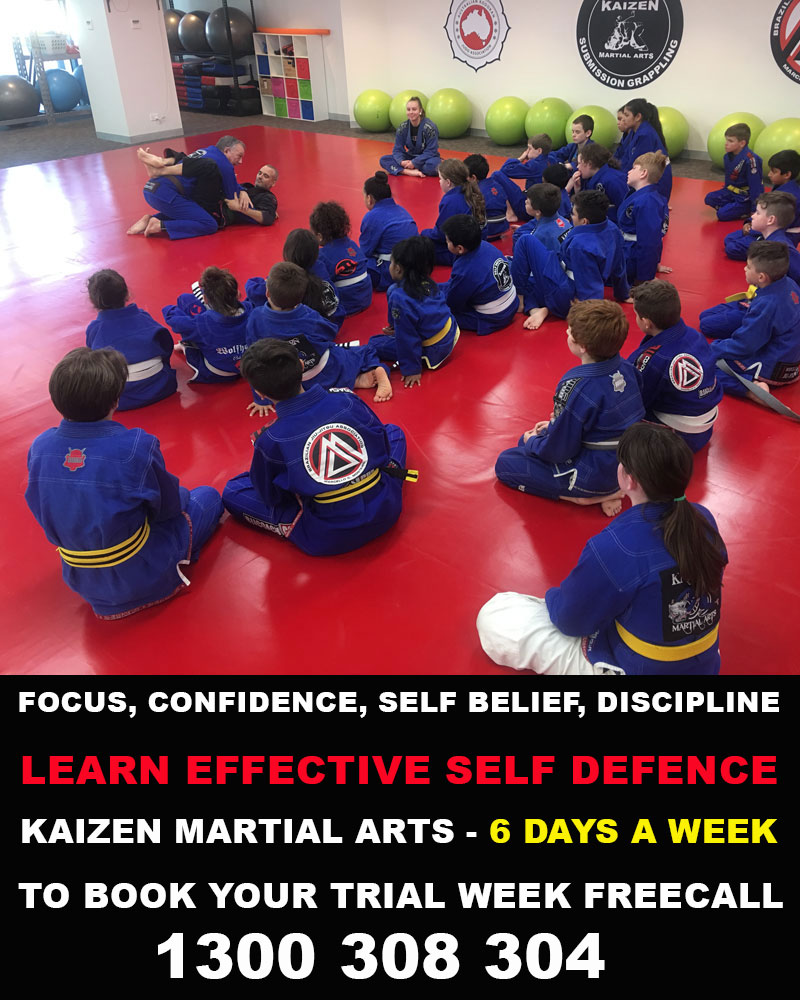 Kaizen Martial Arts Kids and Adults Classes Wyndham Vale