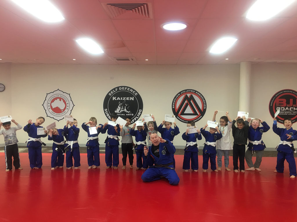 Kindy Kids 3 to 5 year old BJJ Coach and Judo Classes