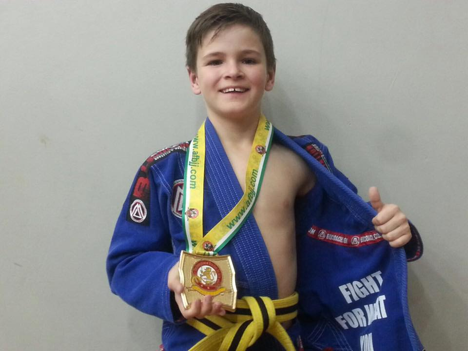 BJJ Coach Australian National BJJ Champion - Caleb 1