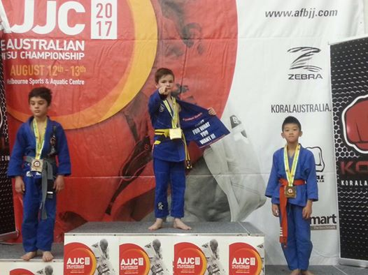 BJJ Coach Australian National BJJ Champion - Caleb
