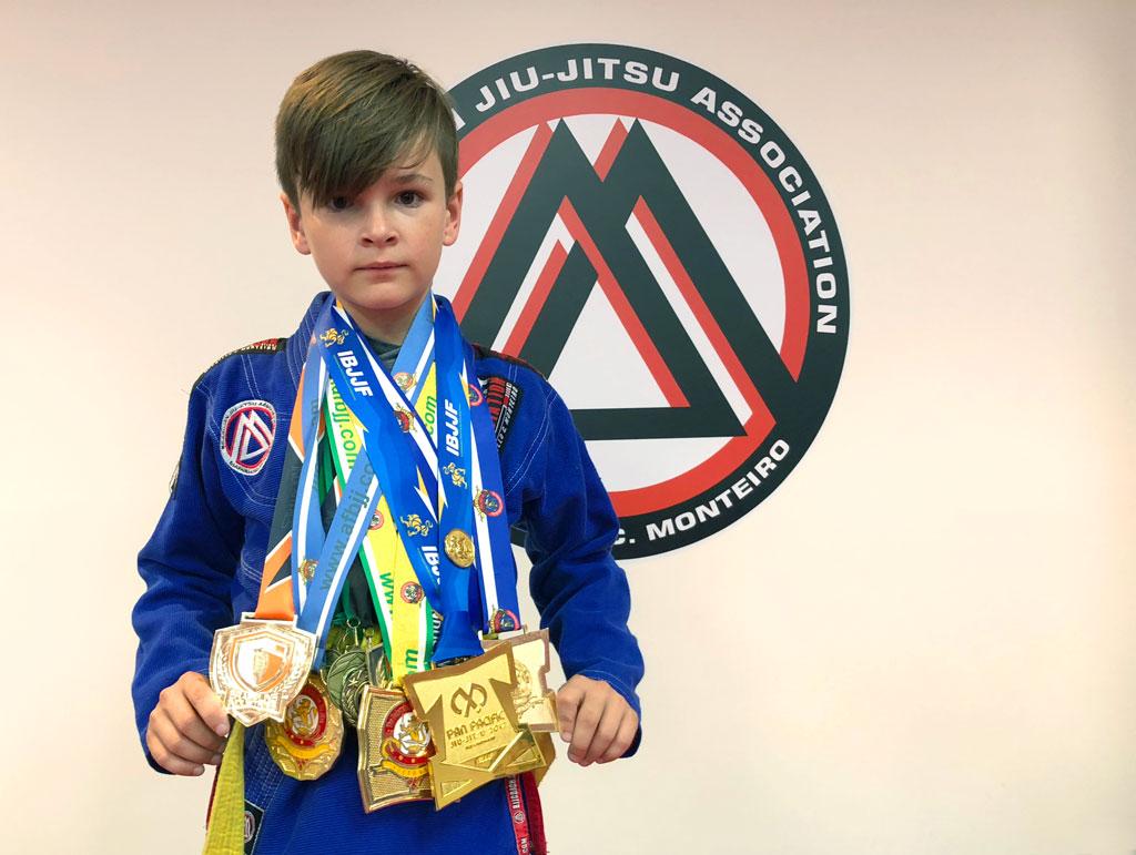 Kids 2018 State Jiu Jitsu Champion   Kaizen Martial Arts