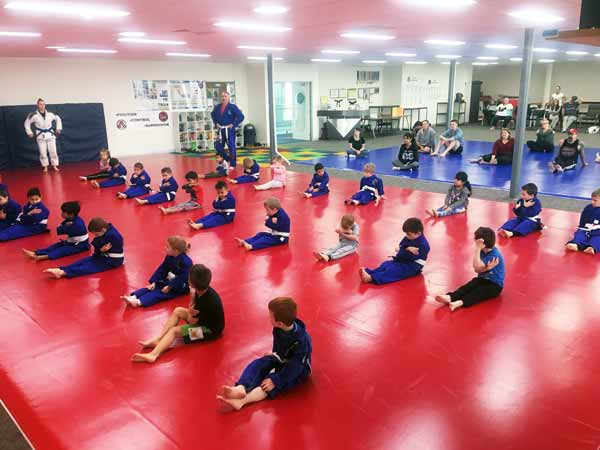 Kindy Kids BJJ Training Manor Lakes