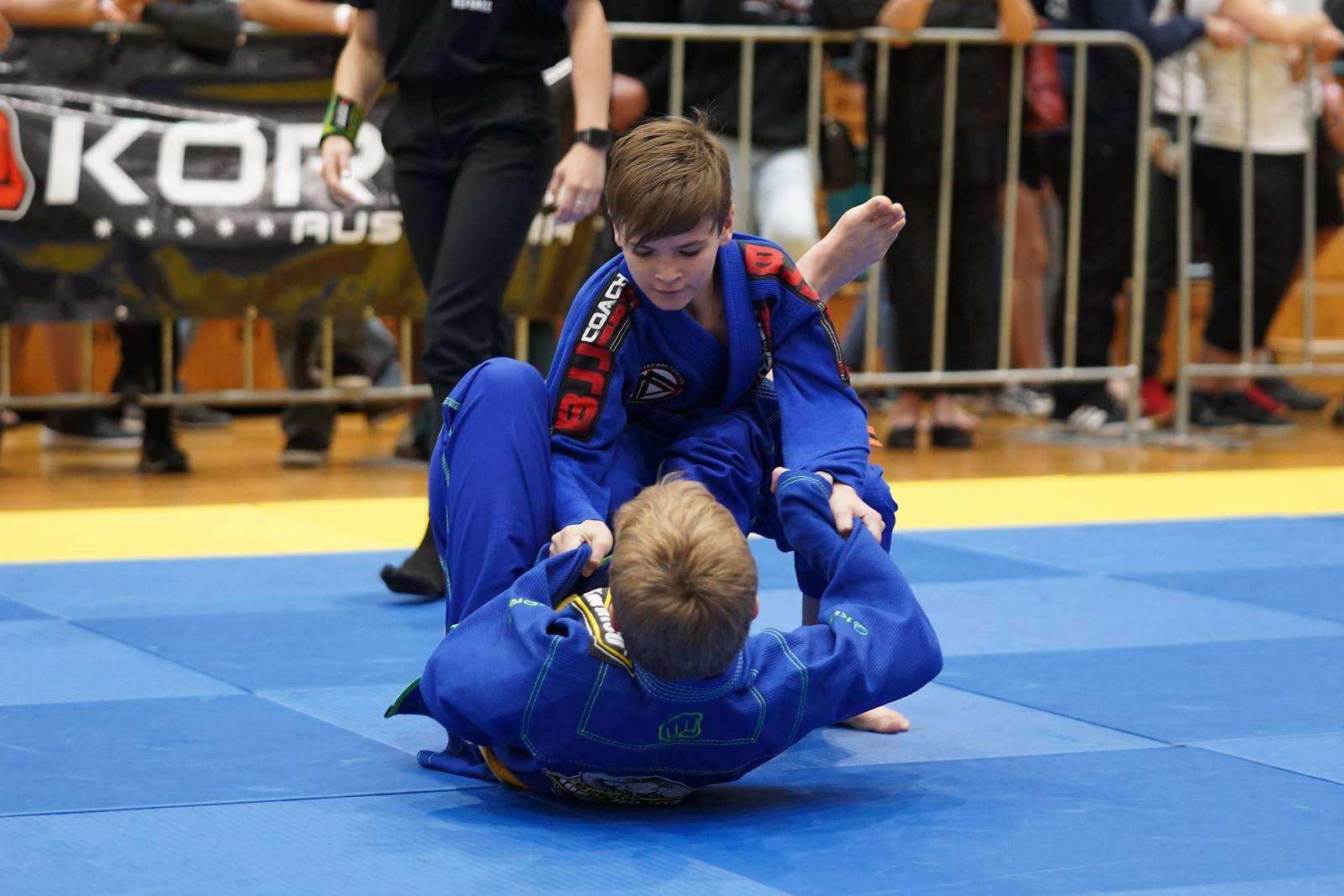 Caleb Wins 2019 AFBJJ Victorian Jiu Jitsu Championship   BJJ